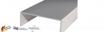 Deckprofil EV1 silber Eloxal