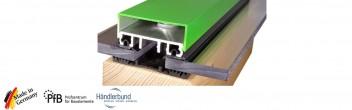 Verlegeprofile für VSG, Stegplatten