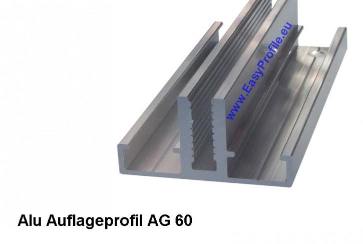 aluminium auflageprofile f r einfachglas und isolierglas von 6 mm 56 mm glasst rke. Black Bedroom Furniture Sets. Home Design Ideas