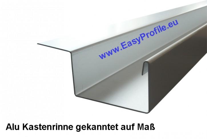 Dachrinne gekantet auf Maß EV1 6000 mm lang