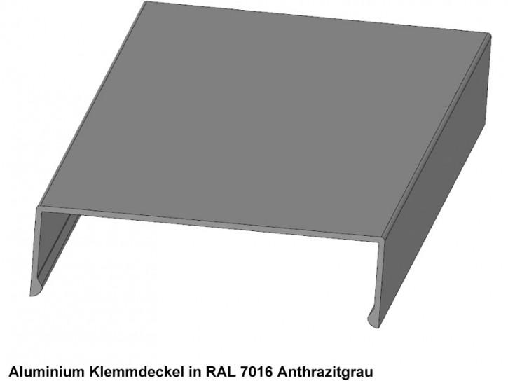 Klemmdeckel Alu grau A.60-20.e 4 Meter
