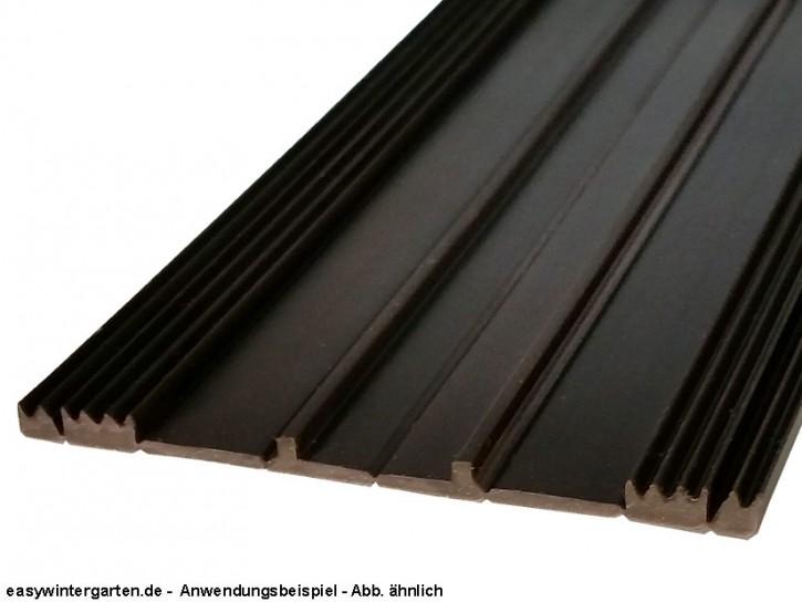 Glasauflagegummi fuer 80 mm Unterkonstruktion FG.105-79.e
