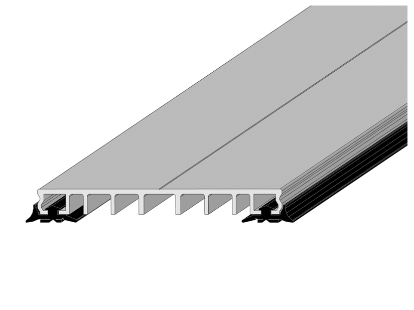 klemmprofile pressleisten klemmleiste f r glas oder stegplatten. Black Bedroom Furniture Sets. Home Design Ideas