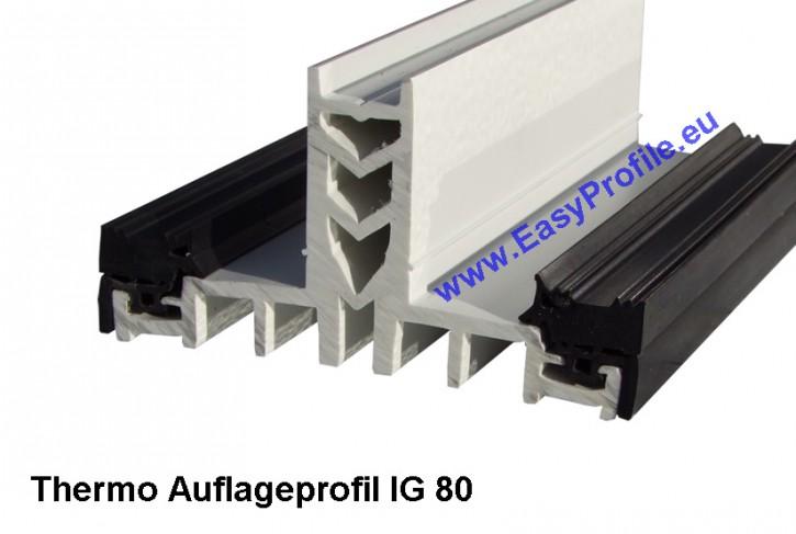 thermo auflageprofile f r isolierglas von 24mm 56 mm glasst rke. Black Bedroom Furniture Sets. Home Design Ideas