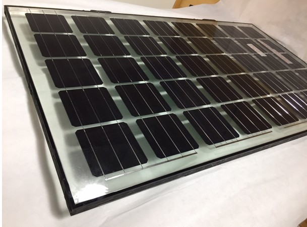 PV Isolierglas - Isolierglas Module 200Wp - 28% transparenz -1600x950x33mm
