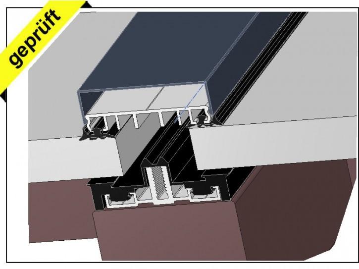 fassadenprofile f r glasfassaden glasbau aluminium. Black Bedroom Furniture Sets. Home Design Ideas