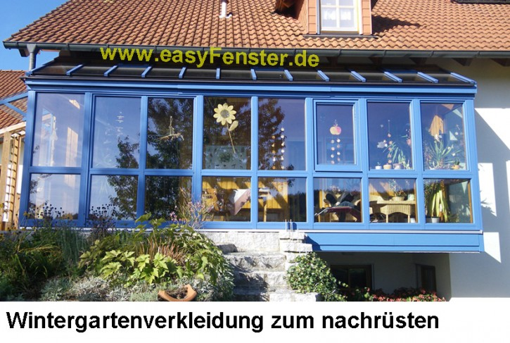 Ticket klein für Fenster- oder Wintergartenverkleidungen