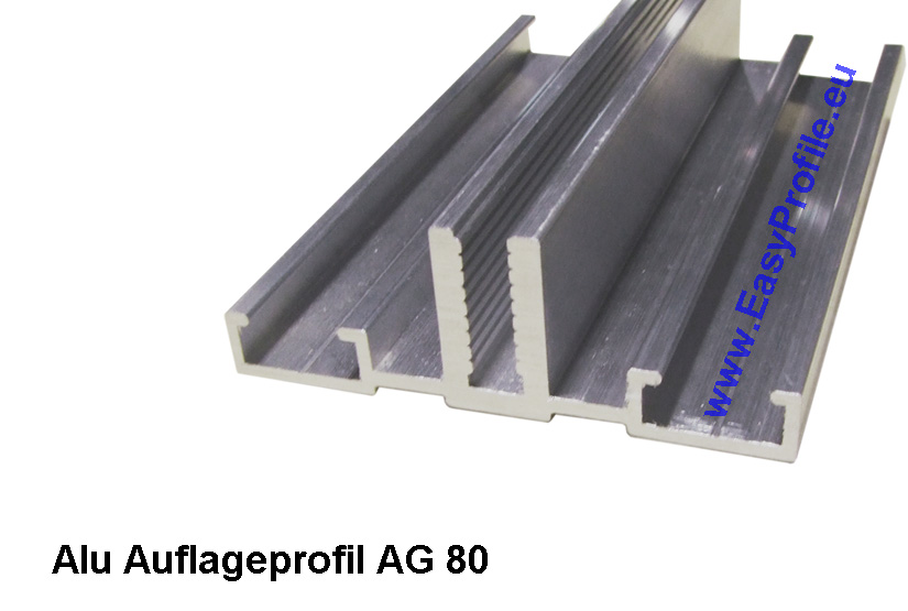 glasauflageprofile auflageprofile alu f r glas. Black Bedroom Furniture Sets. Home Design Ideas