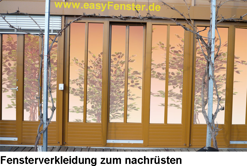 holzfenster und wintergarten verkleiden mit einer. Black Bedroom Furniture Sets. Home Design Ideas