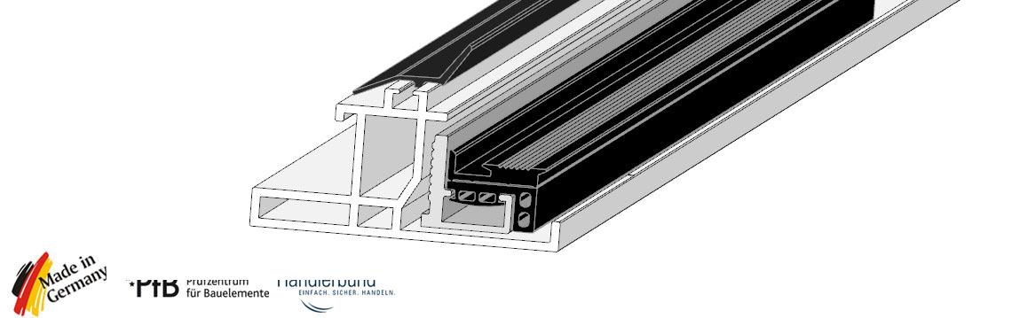 traufenprofil traufenanschluss traufend mmprofil f r. Black Bedroom Furniture Sets. Home Design Ideas