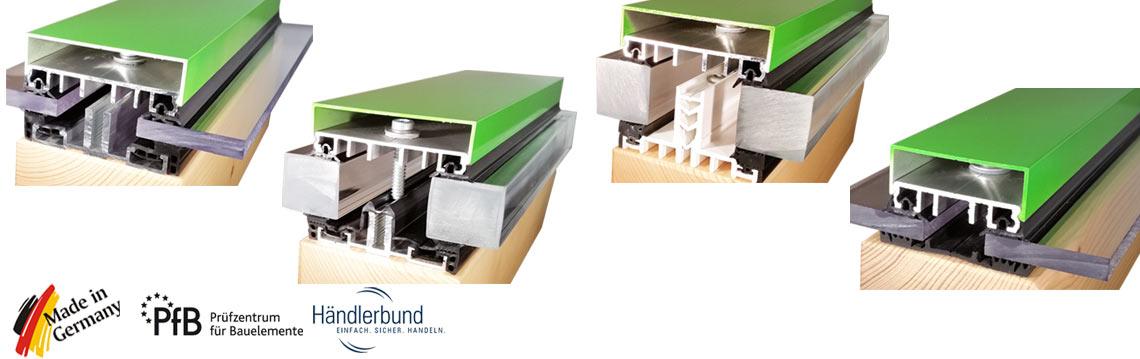 verlegeprofile auflageprofile auflagegummi glasklemmprofile musterprofile. Black Bedroom Furniture Sets. Home Design Ideas