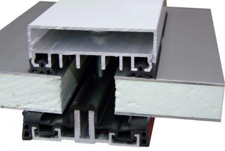 alu verlegeprofil auflageprofil komplettprofil isoliert f r isolierglas 60 mm. Black Bedroom Furniture Sets. Home Design Ideas